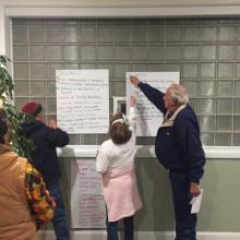 Ashton residents vote for top priorities